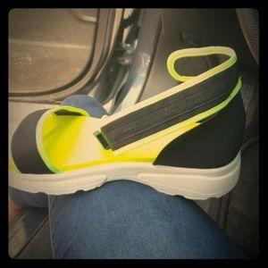 BRAND NEW neon sandals